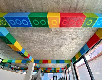 EgeekOwl Lego Office