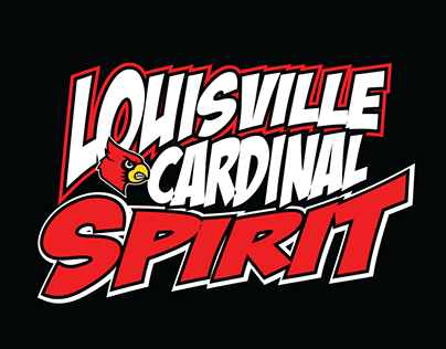 UofL Cheerleading Team T-Shirts