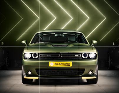 Social Media Management - Golden Cars Company