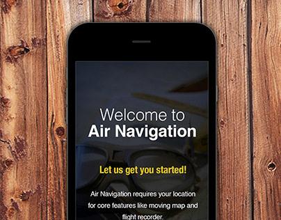 Air Navigation iOS Intuitive UI