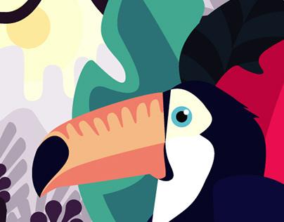 Tucan animation