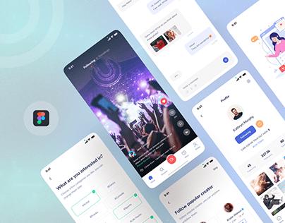 Xolo-Short Video Apps Design