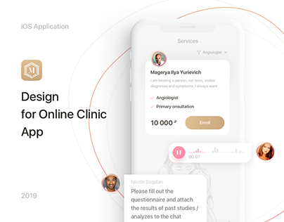 App Design for Online Clinic