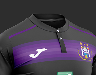 Anderlecht football kit.