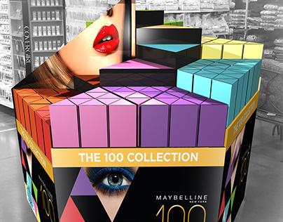 Maybelline 100 Displays