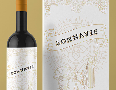 Bonnavie - Wine Label & Packaging