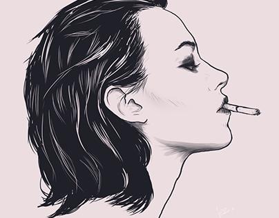 .smokin'.