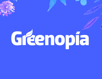 Greenopia - Interface Design + Branding