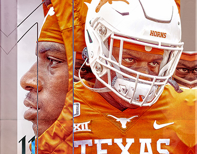 2020 Texas Longhorns Football Social Content