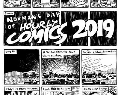 Hourly Comic Day 2019
