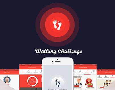 Walking Challenge - Health App