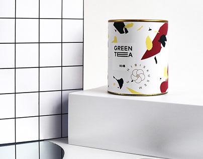 green tea / package