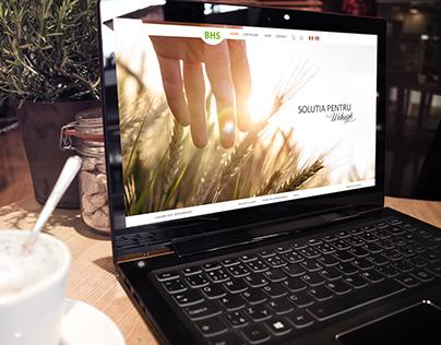 Biohumusol Website Design