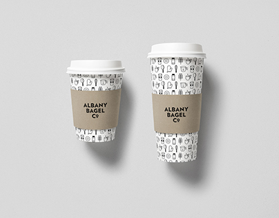 Albany Bagel Co. Branding