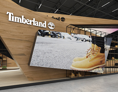 * TIMBERLAND * Exhibition stand