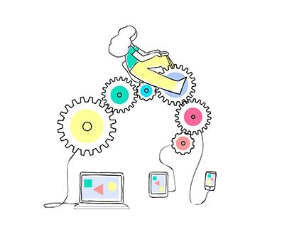 animated gifs for email service provider Rav Messer
