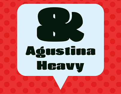 Agustina Free Font