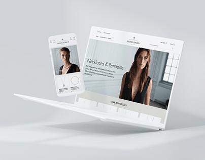 Georg Jensen – New Website