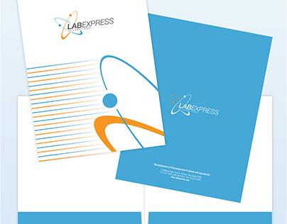 Lab Express Corporate Identity Folder