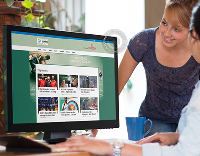 Rio Olympics Project : UX/UI Design-Branding-Promotion