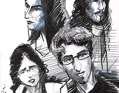 Bocetos en vivo - 2015