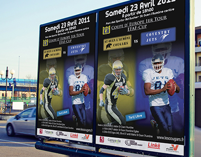 Cougars – Affiches matchs