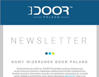E-mail - Newsletter DOOR