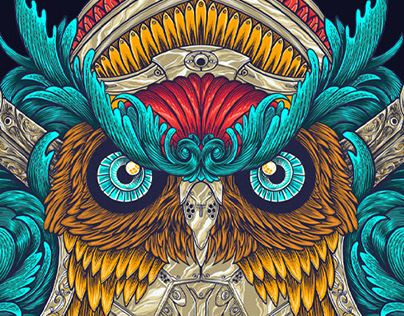 Robotic Owl - Collaboration with Wacom and Tonymidi