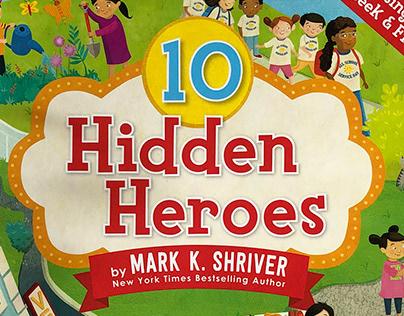 10 Hidden Heroes - seek and find children's book