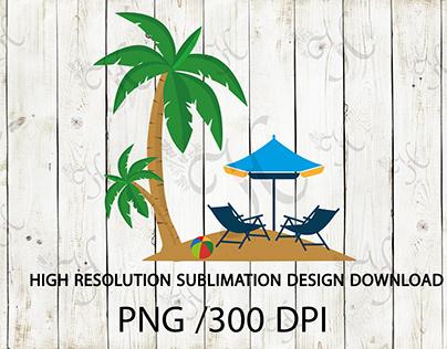 summer sublimation png