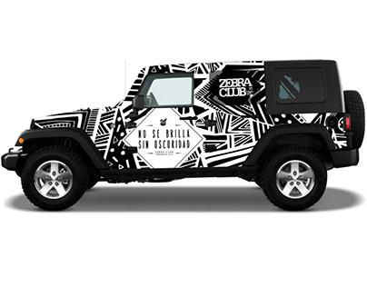 Vehicular Design - ZEBRA night club