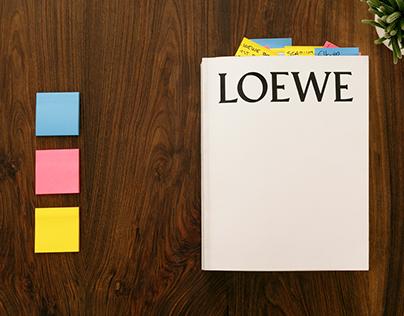 LOEWE Book Past, Present, Future: The Edit