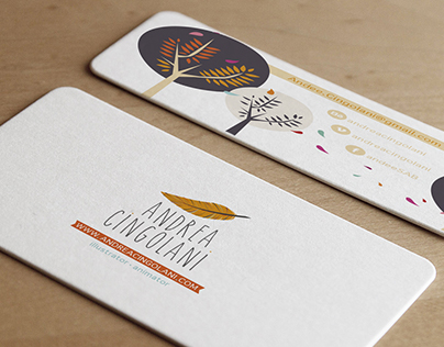 Illustrated Business Cards no.3: Personal cards