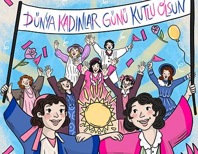 International Women's Day - Lav Turkey