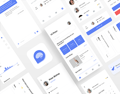 Online Therapy App - Mindzen (Personal Project)