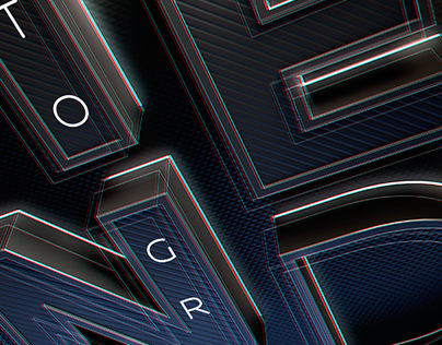 TENd to grow: agency b-day 3d typography, 1st versions