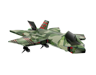Jet Fighter FF 66: CAMO EDITION