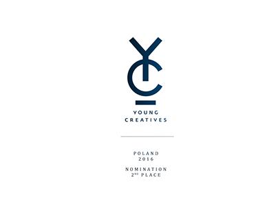 Young Creatives 2016, Poland. Design - nomination.