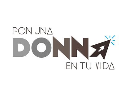 Logotipo para Pon una Donna en tu vida