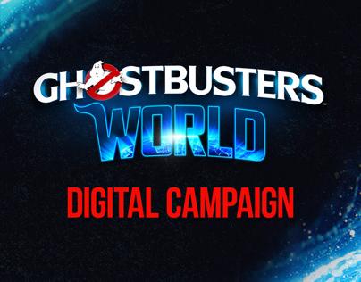 SONY   GhostbustersWorld   Digital Campaign