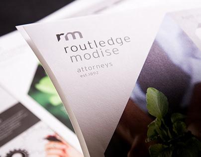 Routledge Modise: Design Collateral