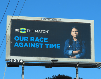 Be The Match OOH