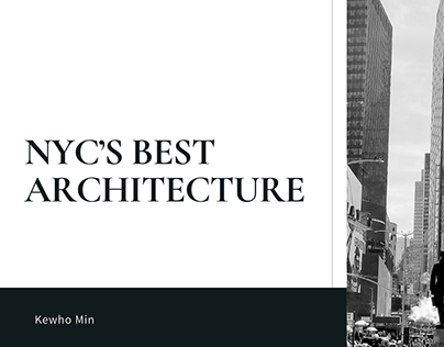 Kewho Min   NYC's Best Architecture