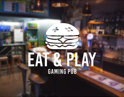 EAT & PLAY - Gaming Pub Brand Identity