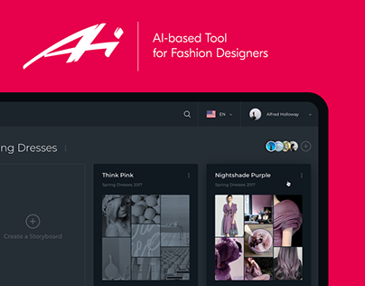 Designer AI: Dashboard and Graphics for Fashion Service