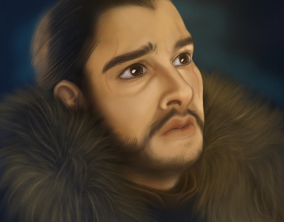 Digital Painting - John Snow