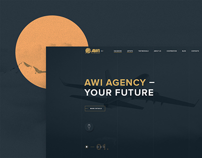 AWI Agency - Corporate website