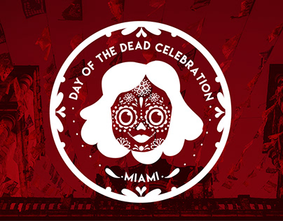 Day of the dead celebration miami - Logo