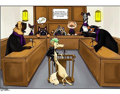 Dog's court