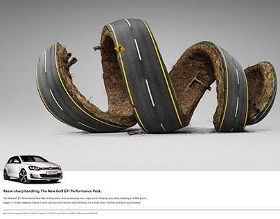 VW GTi Performance Pack - Razor Sharp Handling